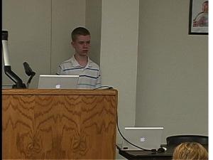Eric Waples, student