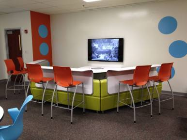 A great space for videoconferencing.