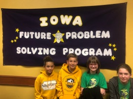 6th grade team #1: Josephine Blazic, Alisia Brok, Penelope Taylor and Carson Ziegler