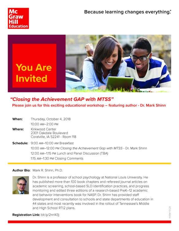 MTSS Workshop Invite.Dr.Mark Shinn.10.04.18.Coralville.Iowa (003)