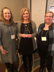 Dr. Angelisa Fynaardt, Diane John, & Dr. Cindy Yelick