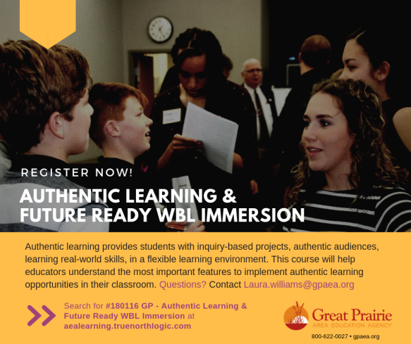 #180116 GP - Authentic Learning & Future Ready WBL Immersion