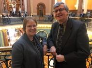 Fairfield Superintendent Noll & Representative Dennis Cohoon